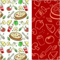 Link toLovely background series vector material 3