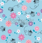 Link toLovely backgrounds in a row vector