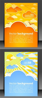 Link toLovely book covers vector