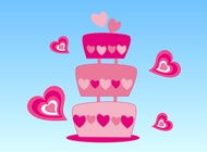Link toLovely cake vector free