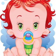 Link toLovely cartoon baby design vector 01 free