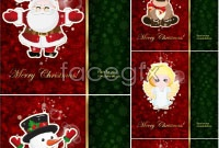 Link toLovely christmas card vector