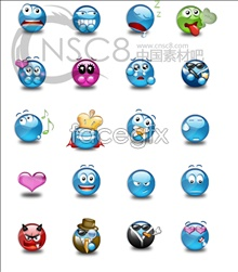Link toLovely crystal emoticons