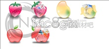 Link toLovely crystal fruit icons