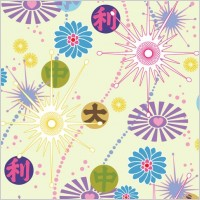 Link toLovely flower background vector 2