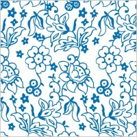 Link toLovely flower pattern background vector lines