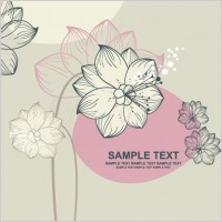 Link toLovely flowers vector 1