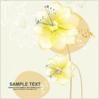 Link toLovely flowers vector 3