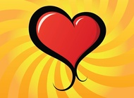 Link toLovely heart vector free