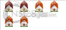 Link toLovely house desktop icons