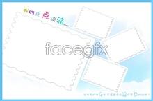 Link toLovely photo frame templates psd