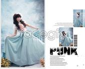 Link toLovely princess photo album psd