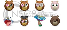 Link toLovely qq bear icon