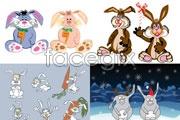Link toLovely rabbit cartoon vector