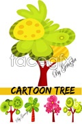 Link toLovely tree vector