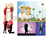 Link toLovers and couples vector