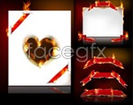 Link toLoving flame vector