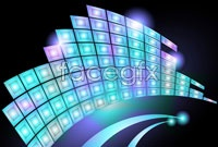 Link toLuminescence pattern background vector ii