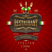 Link toLuxurious restaurant cover background 04 vector