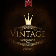Link toLuxurious royal vintage background vector 01 free