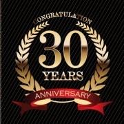 Link toLuxury anniversary labels golden style vector 01