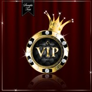 Link toLuxury diamond vip royal background vector 03 free
