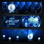 Link toLuxury jewellery banners design vector 02
