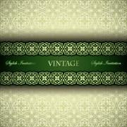 Link toLuxury pattern vintage vector background 02