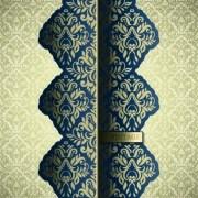 Link toLuxury pattern vintage vector background 03