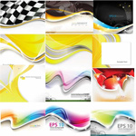 M-brilliant backgrounds vector