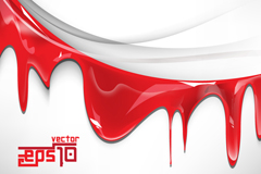 Link toM-red watercolor background vector