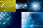 Link toM-tech backgrounds vector