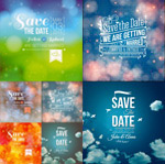 Link toMagic background notes vector