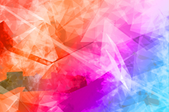 Link toMagic geometrical background vector