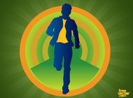 Link toMan in motion vector free
