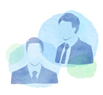 Link toMan portrait sketch vector