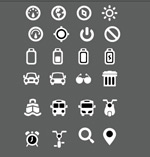 Link toMany icons vector