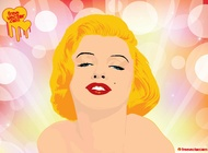Marilyn monroe vector free