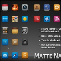 Link toMatte nano icons for iphone icons pack