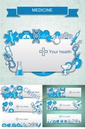 Link toMedical banner vector design