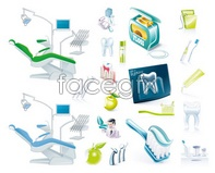 Link toMedical equipment dental cleaning x ray vector