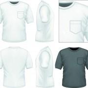 Link toMen clothes design template vector set 01