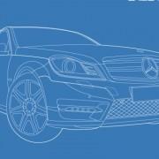 Link toMercedes-benz car creative design vector free