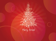 Link toMerry xmas card vector free