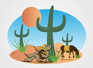 Link toMexican desert vector free