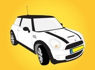 Mini cooper graphics vector free