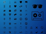 Link toMinimal icons vector free