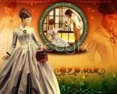 Link toMirror flower wedding template psd