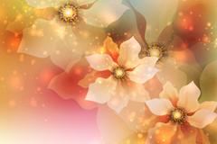 Link toMisty flower design vector