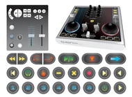 Link toMixing console and buttons vector free